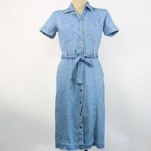 NWT Current/Elliott The Jackie Denim Dress - O17